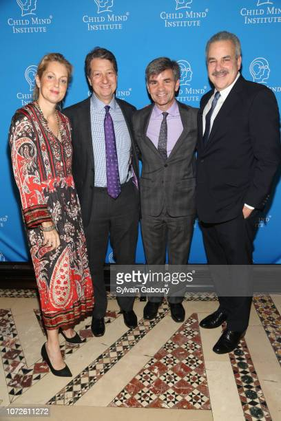 Ali Wentworth Neal Shapiro George Stephanopoulos and Dr Harold Koplewicz attend Child Mind Institute 2018 Child Advocacy Award Dinner at Cipriani...
