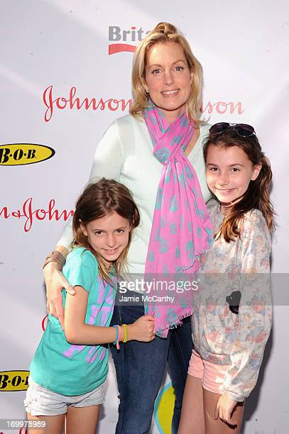 Ali Wentworth poses with her daughters at the 2013 Baby Buggy Bedtime Bash hosted by Jessica and Jerry Seinfeld and sponsored by Johnson Johnson and...