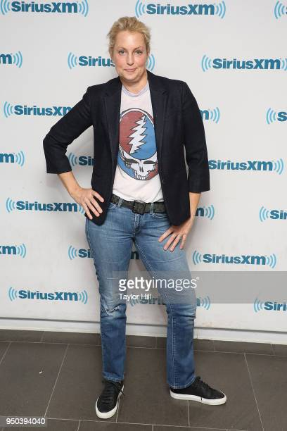 Ali Wentworth visits the SiriusXM Studios on April 23 2018 in New York City