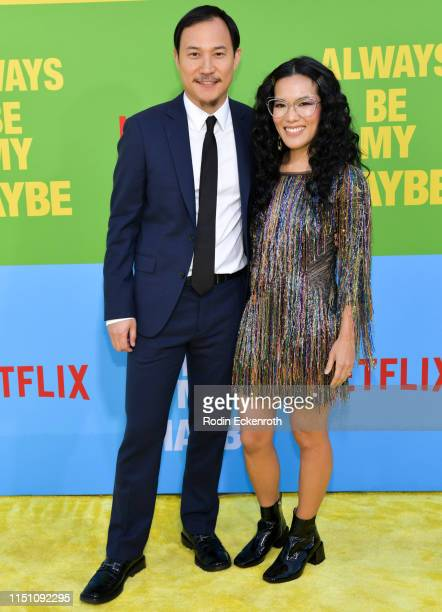 """Ali Wong and Justin Hakuta attend the premiere of Netflix's """"Always Be My Maybe"""" at Regency Village Theatre on May 22, 2019 in Westwood, California."""