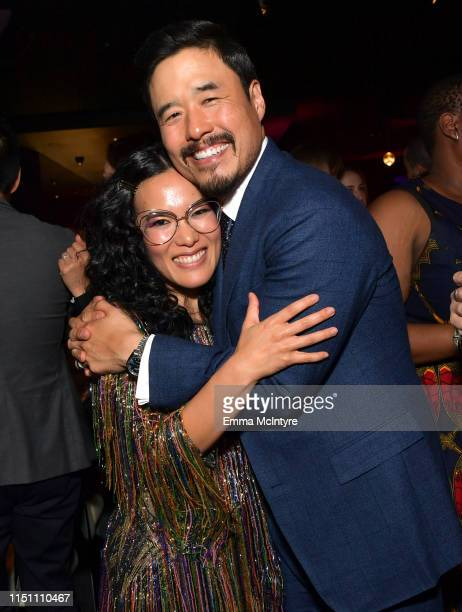 Ali Wong and Randall Park attend the afterparty for the world premiere of Netflix's 'Always Be My Maybe' at STK on May 22 2019 in Westwood California