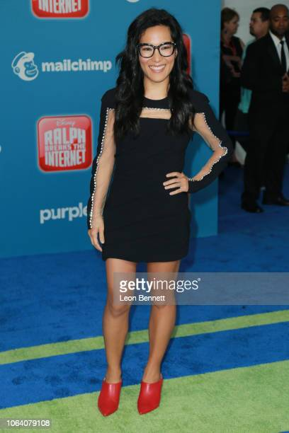 Ali Wong attends Premiere Of Disney's 'Ralph Breaks The Internet' Arrivals on November 05 2018 in Los Angeles California
