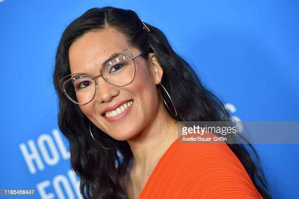 Ali Wong attends the Hollywood Foreign Press Association's Annual Grants Banquet at Regent Beverly Wilshire Hotel on July 31 2019 in Beverly Hills...