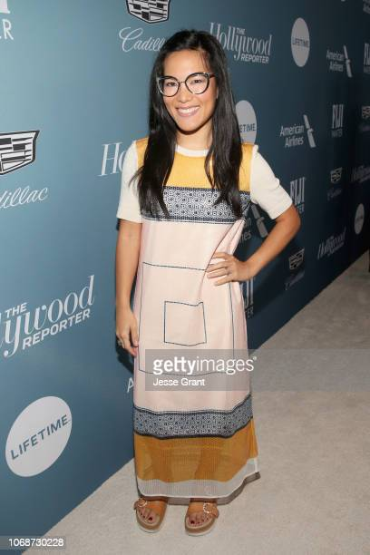 Ali Wong attends The Hollywood Reporter's Power 100 Women In Entertainment at Milk Studios on December 5 2018 in Los Angeles California