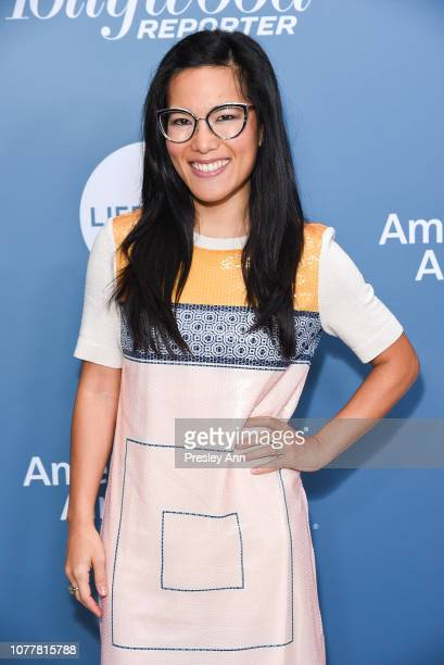 Ali Wong attends The Hollywood Reporter's Power 100 Women In Entertainment at Milk Studios on December 05 2018 in Los Angeles California