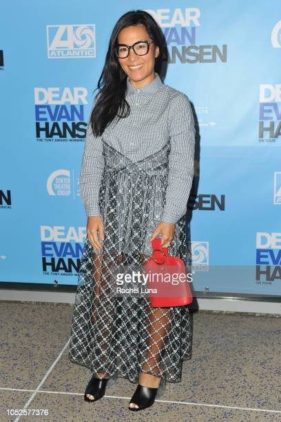 Ali Wong attends the Los Angeles opening night performance of 'Dear Evan Hansen' at Ahmanson Theatre on October 19 2018 in Los Angeles California