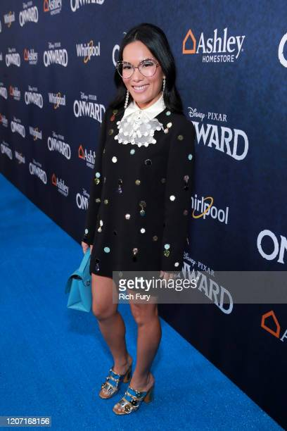 Ali Wong attends the Premiere of Disney and Pixar's Onward on February 18 2020 in Hollywood California