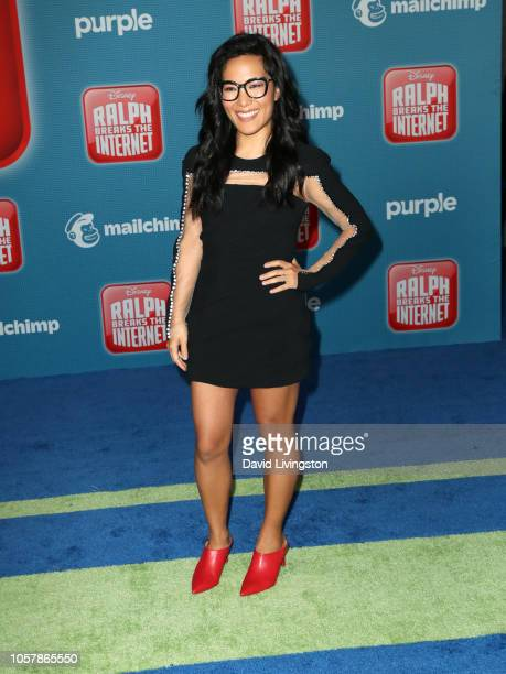 Ali Wong attends the premiere of Disney's 'Ralph Breaks the Internet' at El Capitan Theatre on November 5 2018 in Los Angeles California