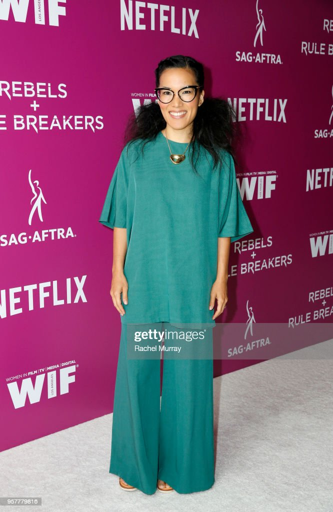 Ali Wong attends the Rebels and Rule Breakers Panel at Netflix FYSEE at Raleigh Studios on May 12, 2018 in Los Angeles, California.