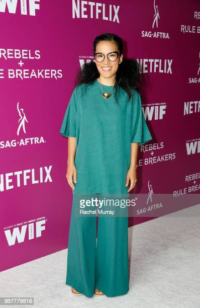 Ali Wong attends the Rebels and Rule Breakers Panel at Netflix FYSEE at Raleigh Studios on May 12 2018 in Los Angeles California