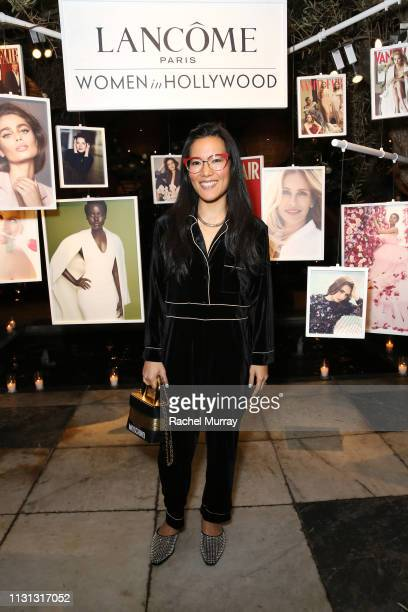 Ali Wong attends Vanity Fair and Lancôme Toast Women In Hollywood on February 21 2019 in West Hollywood California