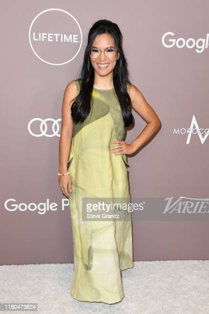 Ali Wong attends Variety's 2019 Power of Women Los Angeles presented by Lifetime at the Beverly Wilshire Four Seasons Hotel on October 11 2019 in...