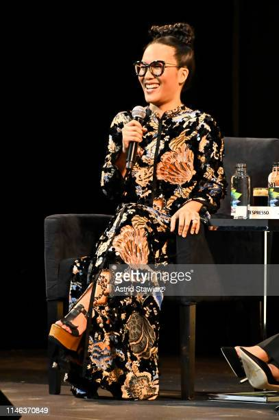 Ali Wong participates in the QA for Netflix's Tuca Bertie Tribeca Film Festival Premiere at Spring Studios on May 01 2019 in New York City