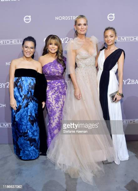 Ali Wong Paula Abdul Molly Sims and Nicole Richie attend the 2019 Baby2Baby Gala presented by Paul Mitchell on November 09 2019 in Los Angeles...