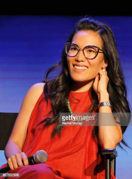 Ali Wong speaks onstage at the Netflix is a Joke Panel at Netflix FYSEE at Raleigh Studios on May 11 2018 in Los Angeles California