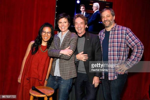 Ali Wong Tig Notaro Martin Short and Judd Apatow attend the Netflix is a Joke Panel at Netflix FYSEE at Raleigh Studios on May 11 2018 in Los Angeles...