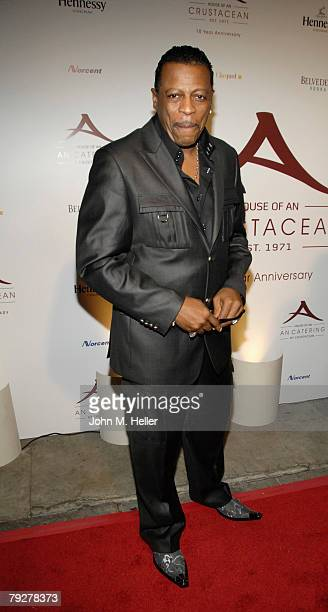 Ali Woodson attends the 10th Anniversary of Crustacean Restaurant Beverly Hills on January 26 2008 in Beverly Hills California