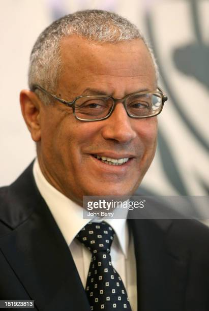 Ali Zeidan, Prime Minister of Libya attends the 68th session of the United Nations General Assembly on September 25, 2013 in New York City.