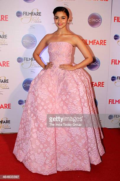 Alia Bhatt at Ciroc Filmfare Glamour and style awards in Mumbai