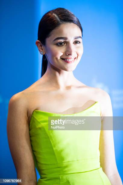 Alia Bhatt attends the 'Gully Boy' Photocall at the 69th Berlinale International Film Festival Berlin on February 9 in Berlin Germany The Berlin film...