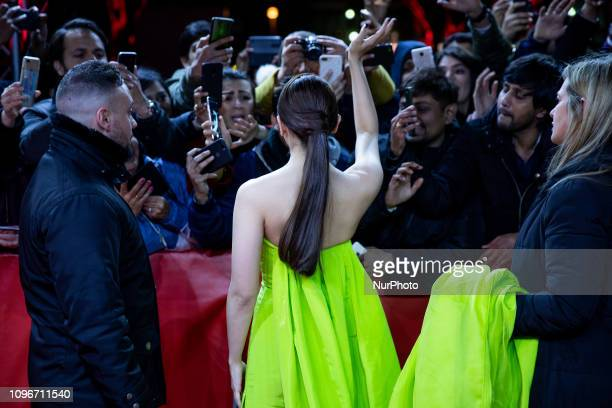 Alia Bhatt attends the 'Gully Boy' Premiere at the 69th Berlinale International Film Festival Berlin on February 9 in Berlin Germany The Berlin film...