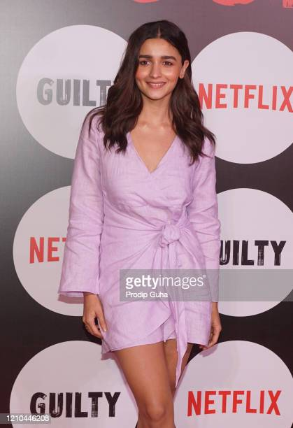 Alia Bhatt attends the special screening of the film Guilty on March 04 2020 in Mumbai India