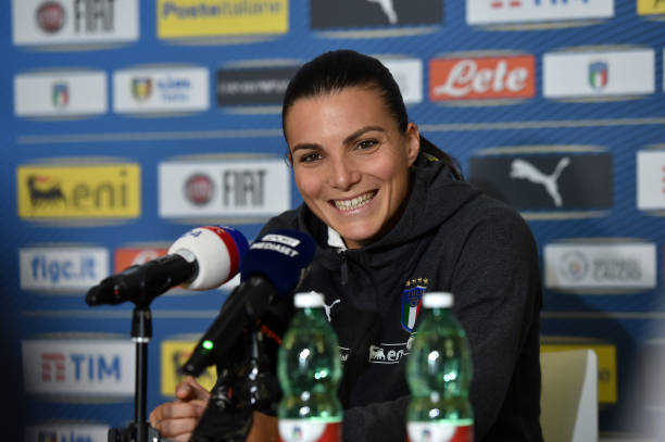 FRA: Italy Women Training Session And Press Conference: FIFA Women's World Cup France 2019