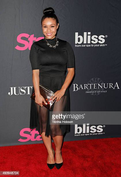 Alia Kruz attends Star Magazine's Scene Stealers party at W Hollywood on October 22 2015 in Hollywood California