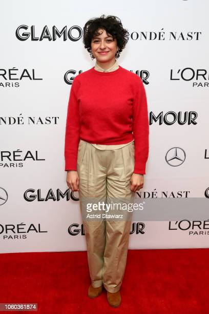 Alia Shawkat attends 2018 Glamour Women Of The Year Summit Women Rise at Spring Studios on November 11 2018 in New York City