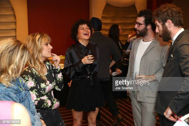 Alia Shawkat attends a 'Search Party' event during Vulture Festival LA Presented by ATT at Hollywood Roosevelt Hotel on November 18 2017 in Hollywood...