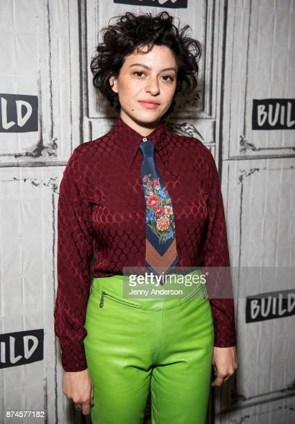 Alia Shawkat attends AOL Build Series at Build Studio on November 15 2017 in New York City