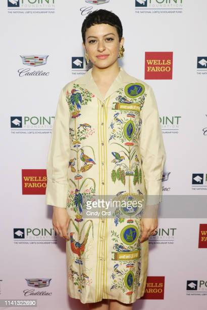 Alia Shawkat attends Celebrities Support LGBTQ Education at Point Honors Gala New York at The Plaza Hotel on April 08 2019 in New York City