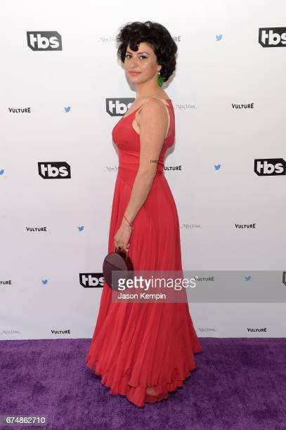 Alia Shawkat attends Full Frontal With Samantha Bee's Not The White House Correspondents' Dinner at DAR Constitution Hall on April 29 2017 in...