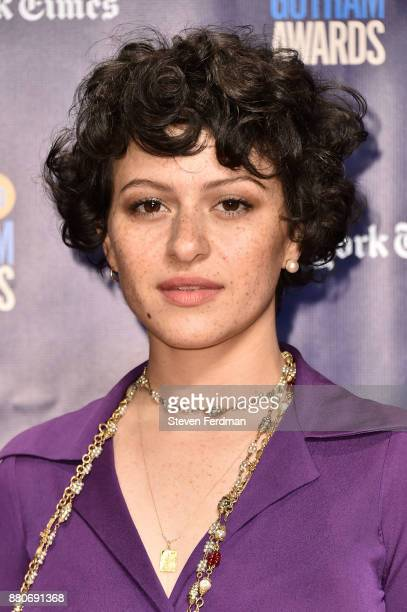 Alia Shawkat attends IFP's 27th Annual Gotham Independent Film Awards at Cipriani Wall Street on November 27 2017 in New York City