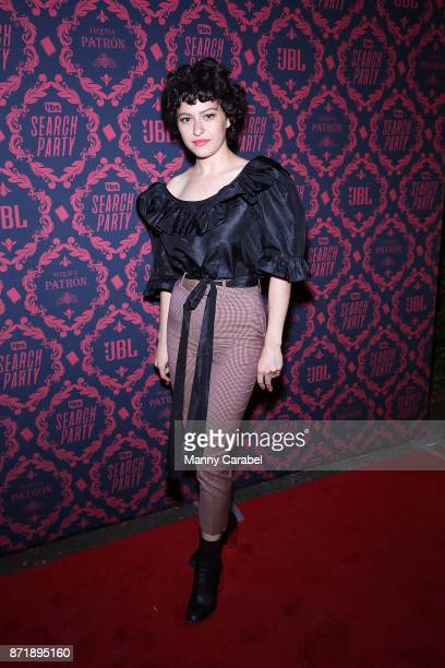 Alia Shawkat attends TBS hosts the Season 2 premiere of 'Search Party' at Public Arts at Public on November 8 2017 in New York City