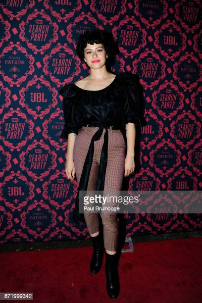Alia Shawkat attends TBS hosts the Season 2 Premiere of 'Search Party' at Public Hotel on November 8 2017 in New York City