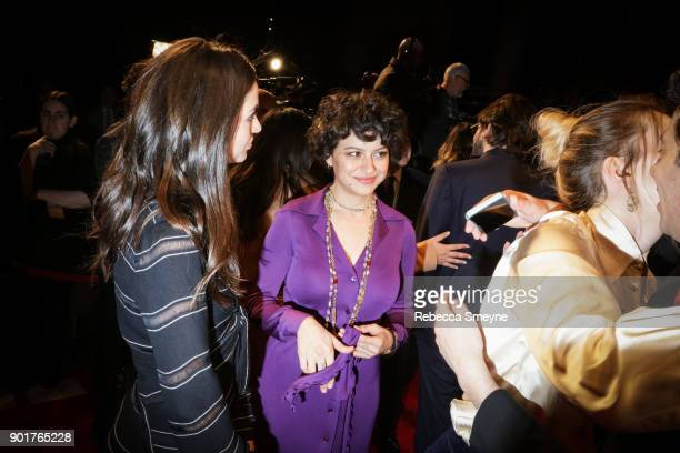Alia Shawkat attends the 2017 IFP Gotham Awards at Cipriani Wall Street on November 27 2017 in New York NY