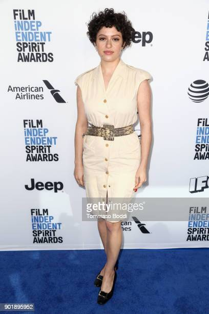 Alia Shawkat attends the Film Independent Spirit Awards Nominee Brunch at BOA Steakhouse on January 6 2018 in West Hollywood California