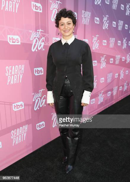 Alia Shawkat attends the For Your Consideration Red Carpet Event for TBS' Hipsters and OG's at Steven J Ross Theatre on the Warner Bros Lot on April...