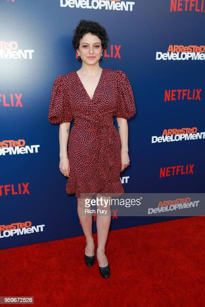 Alia Shawkat attends the premiere of Netflix's Arrested Development Season 5 at Netflix FYSee Theater on May 17 2018 in Los Angeles California