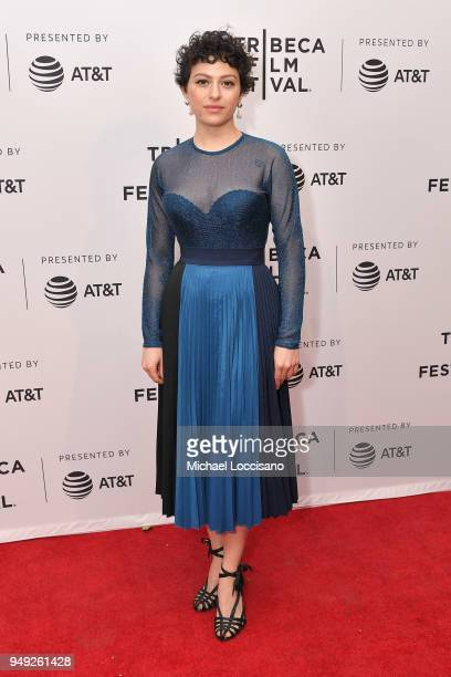 Alia Shawkat attends the screening of Duck Butter during the Tribeca Film Festival at SVA Theatre on April 20 2018 in New York City