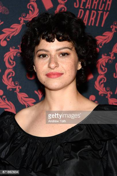 Alia Shawkat attends the season 2 premiere of 'Search Party' hosted by TBS at Public Arts at Public on November 8 2017 in New York City