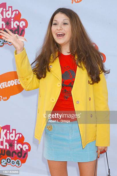 Alia Shawkat during Nickelodeon's 17th Annual Kids' Choice Awards Arrivals at Pauley Pavillion in Westwood California United States