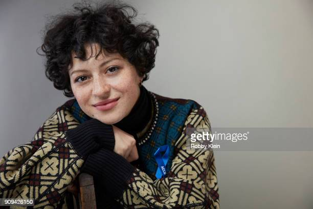 Alia Shawkat from the film 'Blaze' poses for a portrait at the YouTube x Getty Images Portrait Studio at 2018 Sundance Film Festival on January 21...