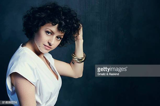 Alia Shawkat poses for a portrait in the Getty Images SXSW Portrait Studio Powered By Samsung on March 13 2016 in Austin Texas