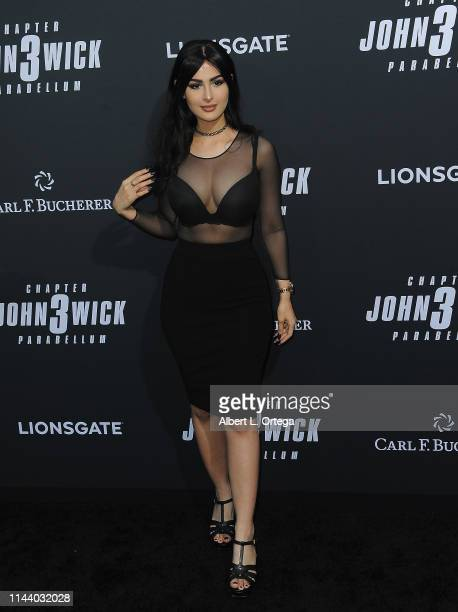 Alia Shelesh arrives for the Special Screening Of Lionsgate's John Wick Chapter 3 Parabellum held at TCL Chinese Theatre on May 15 2019 in Hollywood...