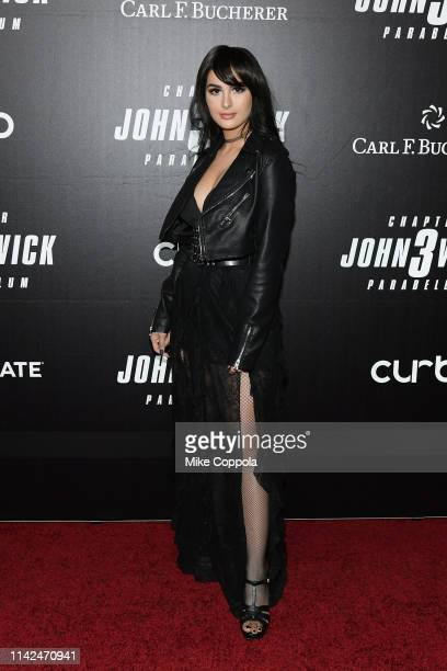 Alia Shelesh attends the John Wick Chapter 3 world premiere at One Hanson Place on May 9 2019 in New York City