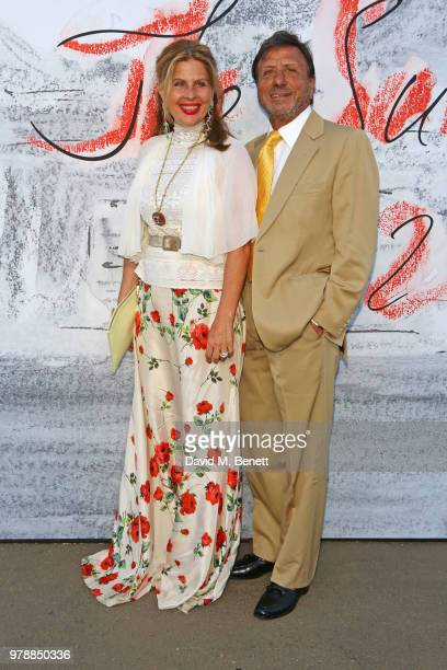 Aliai Forte and Rocco Forte attend the Serpentine Summper Party 2018 at The Serpentine Gallery on June 19 2018 in London England