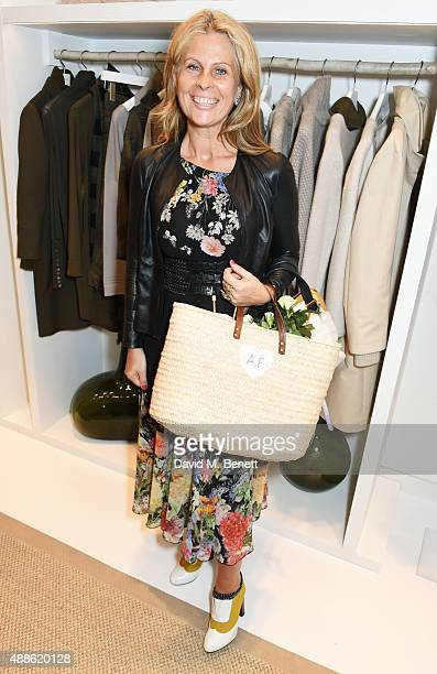 Aliai Forte attends the launch of the Bamford South Audley store in Mayfair on September 16 2015 in London England