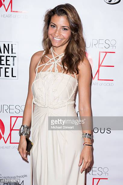 Aliana Galan Attends The Cultures Of Love Giving Back Is The New Black Charity